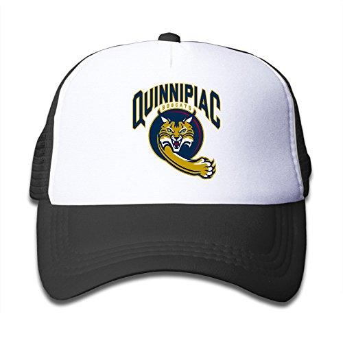 - Quinnipiac Bobcats Hockey Golf Adjustable Child Small Hats Trucker Caps Fits 6~13 Years\r\nOld Kids
