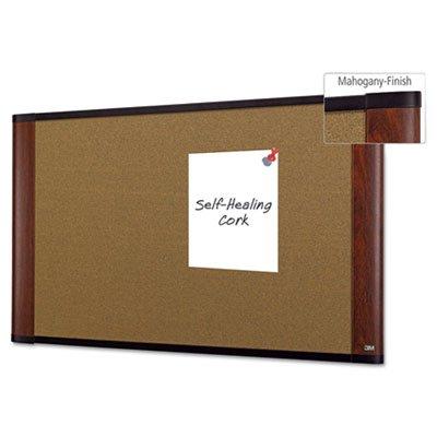 48' Mahogany Frame (Cork Bulletin Board, 36 x 24, Mahogany Frame, Sold as 1 Each)