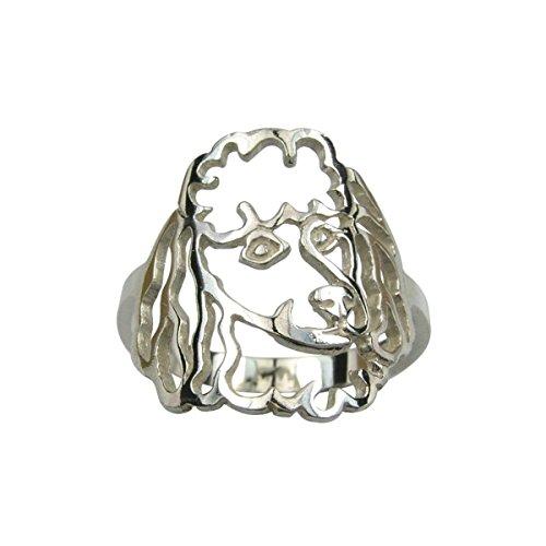 H&H jewellery Caniche I. bague d'argent - 55; Bigouterie d'argent - Bague (titre 925/1000)