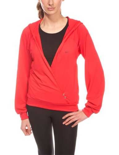 Nike Sphere Dance sudadera con capucha cover-up Rojo (University Red/Black-White 601)