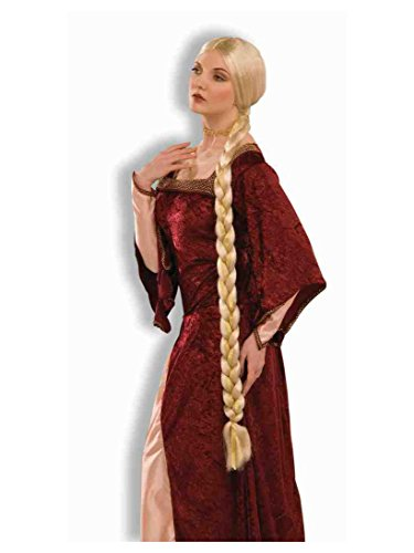 Forum Novelties Women's Adult Extra Long Braids Princess