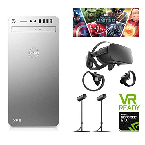 Price comparison product image Oculus Marvel Powers United VR Rift + Touch Bundle and Dell XPS 8910 Desktop Intel i5-6400, GeForce GTX 1070 8GB 1xHDMI 3xDP 1XDVI outputs, 1TB Hard Drive, 8GB RAM