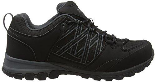 Regatta Samaris, Zapatos de Low Rise Senderismo para Hombre, 40.5 EU Negro (Black/Granite 9V8)