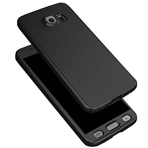 sale retailer fbc70 87e8a Vivo V5 Back Cover, Johra Full Body Front & Back 360 Protective Black Body  Case Cover for Vivo V5 Ipaky Back Cover