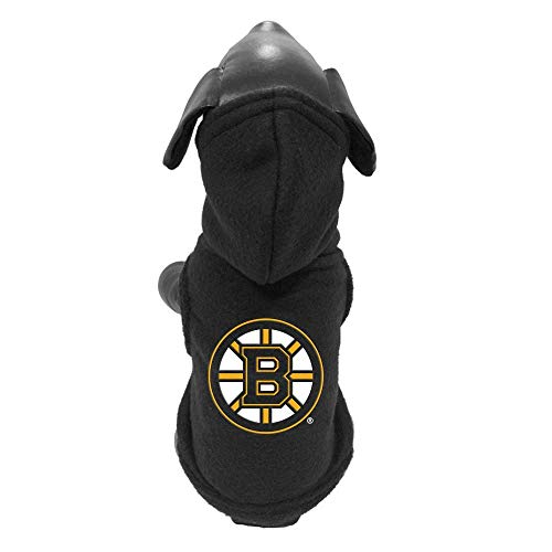 All Star Dogs Boston Bruins Fleece Pet Hoodie, X-Small ()