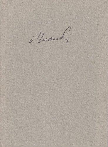 Giorgio Morandi Gemälde, Aquarelle, Zeichnungen, Druckgraphik. Ausstellung im Kunstmuseum Winterthur 1. April bis 1 Juli 2000. Katalog und Ausstellung von Dieter Schwarz.