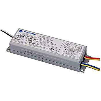 Amazon.com : Sunpark SL15T electronic ballast for multiple CFL and on tv wiring diagram, 12 volt wiring diagram, nascar wiring diagram, hid wiring diagram, ballast wiring diagram, hps wiring diagram, t8 wiring diagram, cat5 wiring diagram, ups wiring diagram, light wiring diagram, switch wiring diagram, cis wiring diagram, fans wiring diagram, ccc wiring diagram, led wiring diagram, bulb wiring diagram, compact fluorescent wiring diagram, fluorescent lamp wiring diagram, ssl wiring diagram, home wiring diagram,