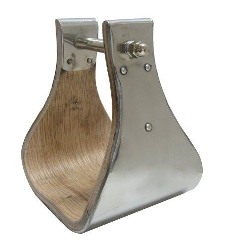 Monel Wooden Bell Stirrups 5