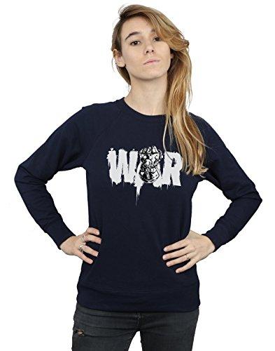De Azul Mujer Avengers Infinity Marino War Camisa Entrenamiento Fist x7nFApq
