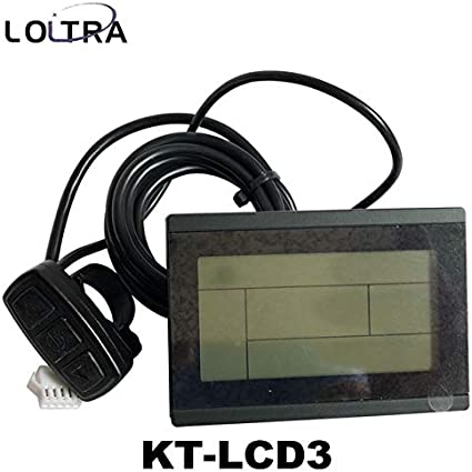 36V//48V KT LCD3 Display Meter//Control Panel Ebike Electric Bicycle