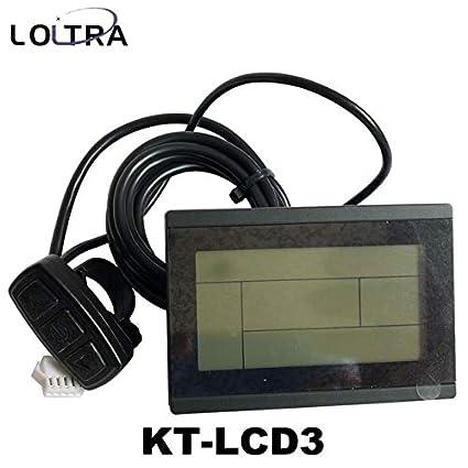Amazon.com: LOLTRA - Panel LCD para bicicleta eléctrica de ...