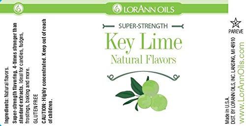 LorAnn Natural Key Lime Flavouring Oils 4oz