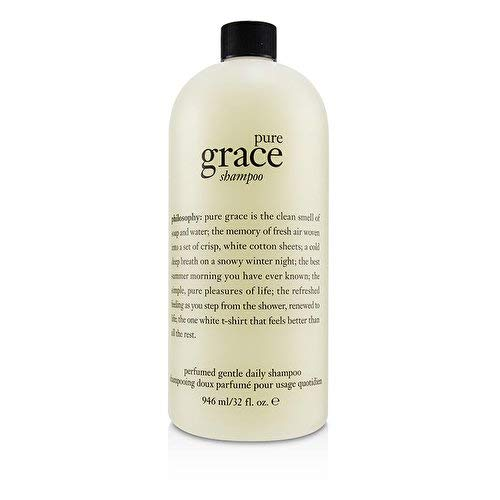 Philosophy Pure Grace Perfumed Gentle Daily Moisturizing Shampoo - Limited Edition Luxury Size - 32 ounces / 946 milliliters
