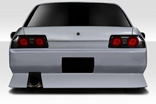 Duraflex Replacement for 1989-1994 Nissan Skyline R32 4DR Type U Rear Bumper - 1 - 4dr Duraflex Type