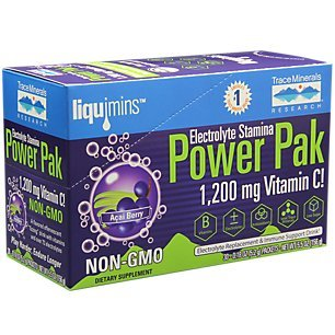 Trace Minerals Research - Power Pak Acai Berry, Non-GMO 30 packets [Health and Beauty]