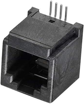 SMD, JACK 4P4C 1PORT MODULAR CONN Pack of 5 634104149621