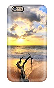 Lennie P. Dallas's Shop New Style New Premium Flip Case Cover Great Sunrise On The Beach Skin Case For Iphone 6 6447951K99735157