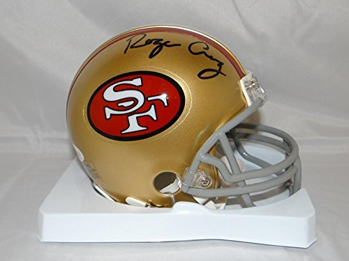 Authentic Tb Mini Helmet (Roger Craig (NFL) Signed Mini Helmet - TB W - JSA Certified - Autographed NFL Mini Helmets)