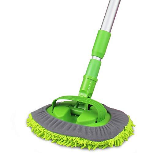 Haodan electronics Brushes Car Supplies Adjustable Wax Drag Dust Removal Scorpion Cleaning The Car Car Wash Mop Soft Fur Brush Car Wax Brush Car Clean Mop