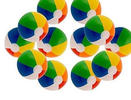 Inflatable Rainbow Color Beach Balls