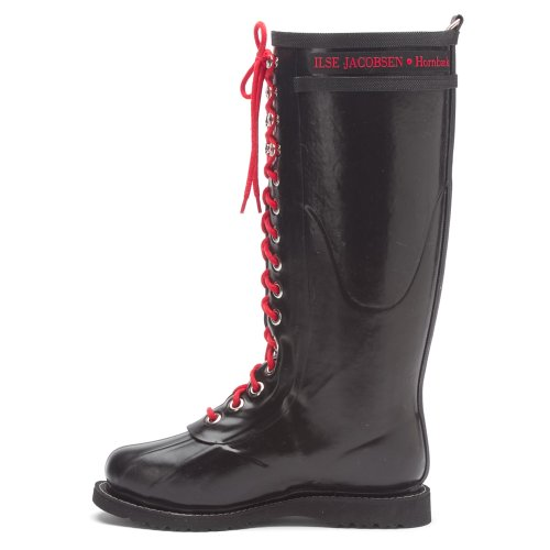 Rub Red Jacobsen 6 Rain Black Women's Ilse Boots 8vqHO8x