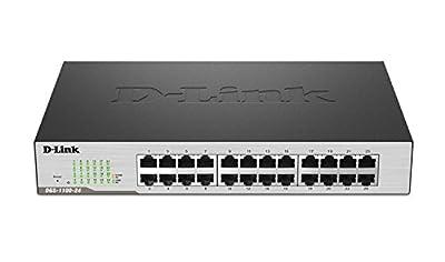 D-Link 24-Port EasySmart Gigabit Ethernet Switch (DGS-1100-24)