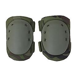 Rothco Tactical Protective Knee Pads, Woodland Camo