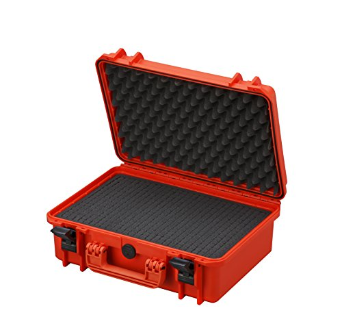 Waterproof Large Protective Hard Camera Case with Foam – IP67 Rated Dustproof Outdoor Protection for GoPro HERO2 HERO3…