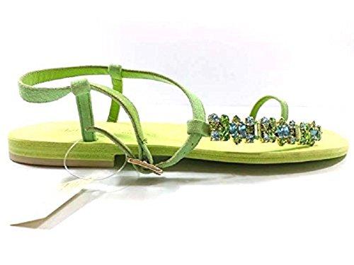 Zapatos Verde Daniele Eddy Gamuza Sandalias Mujer w0OX8PNnk
