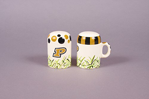 (NCAA Collegiate Salt and Pepper Shakers (Purdue University))
