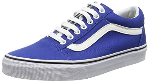 Classic Skateboard Shoe - Vans Old Skool Canvas True Blue Men's Classic Skate Shoes Size 9
