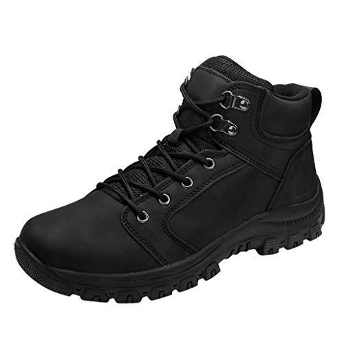KERULA Laufschuhe Wanderschuhe, Draussen Casual Hoch Top Wandern Rutschfestschuhe und Herrenschuhe Elastische Sneakers