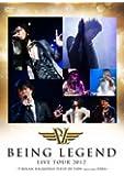 "LIVE DVD""BEING LEGEND""Live Tour 2012 -T-BOLAN,B.B.QUEENS,FIELD OF VIEW Special Guest DEEN-"