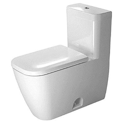 Duravit 2121010001 Happy D.2 Toilet US Version, 1-Piece