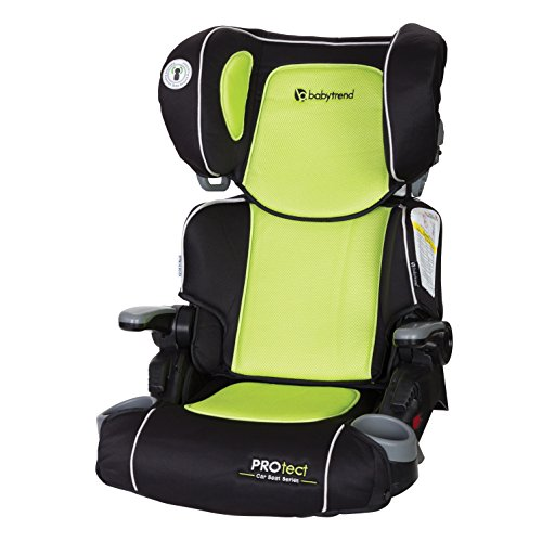 baby trend yumi 2 in 1 folding booster car seat go green. Black Bedroom Furniture Sets. Home Design Ideas