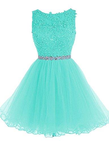 beaded applique babydoll dress - 3