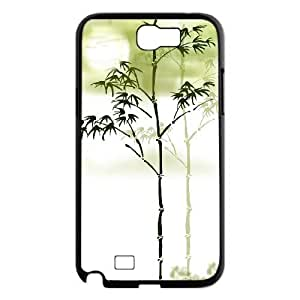 Bamboo Custom Cover Case for Samsung Galaxy Note 2 N7100,diy phone case ygtg-334284