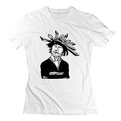 Qincent Womens Screw Neck T Shirts Jamiroquai