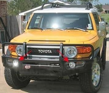 Amazoncom Toyota FJ Cruiser ARB Deluxe Bar Brush Guard - 2006 fj cruiser