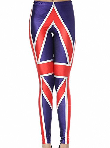 union jack leggings - 5