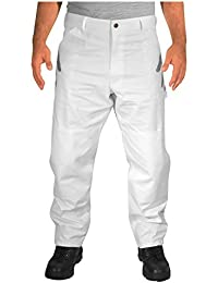Double Knee Painter Pants - White