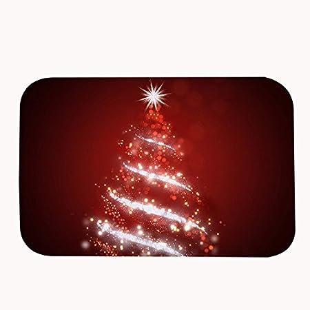 Musical Christmas Lights.Rioengnakg Musical Christmas Lights Red Bath Mat Coral