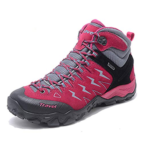 3 Women Ankle Sneakers Bergort Climbing Outdoor Hiking Breathable Boots Shoes w7qxzqdXP