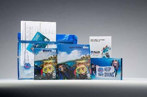 Padi - Open Water Crew Pack - Blue Log Book