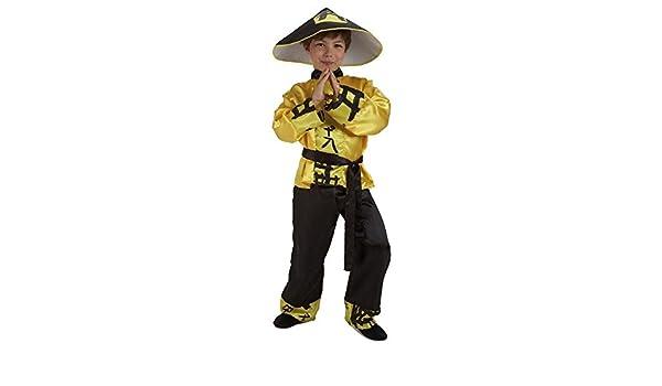 Disfraz Chino Niño Talla 5-7 Años: Amazon.es: Juguetes y juegos