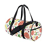 Duffel Bag Exclusive Summer Watercolor Fruit Pattern Women Garment Gym Tote Bag Best Sports Bag for Boys
