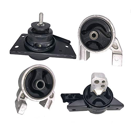 Engine Motor&Transmission Mount fits 2006-2011 Hyundai Accent 1.6L, 2006-2011 Kia Rio5 1.6L Engine Motor & Trans Mount Set 4pcs A7164 A7159 A7152 A7136 21930-1G000 21910-1G000 21830-1G000 21810-1G000