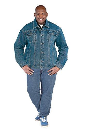 Duke London Herren Jacke blau blau XXXX-Large