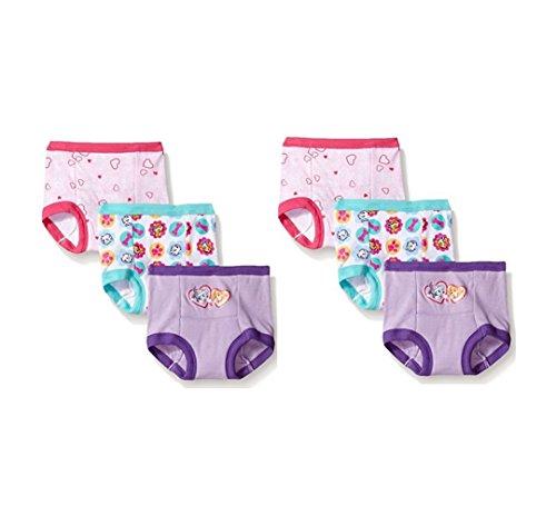 Nickelodeon Toddler Girls' Paw Patrol Girl 6 Pack Potty Training Pant Underwear (3T)