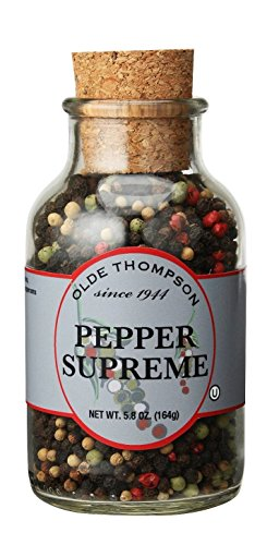 021248231117 - Olde Thompson Pepper Supreme Cork Jar carousel main 0